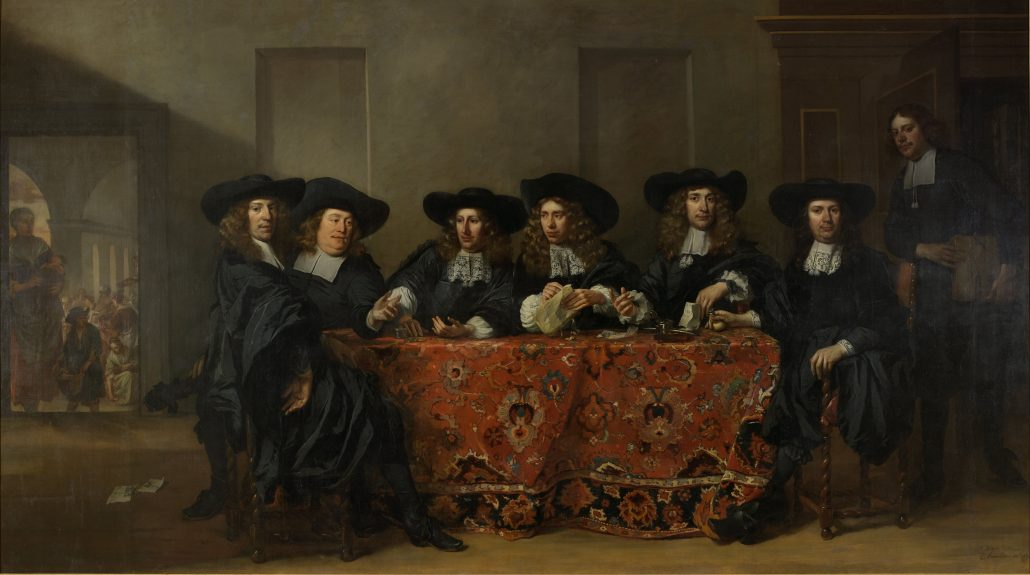 Managing Authentic Relationships; 17th century networking